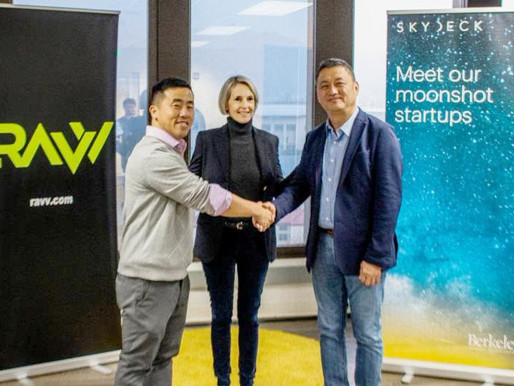 RAVV, Inc. & SkyDeck Partnership Ceremony