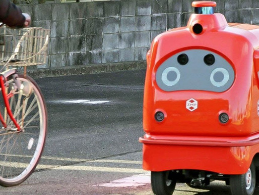Soon Japan will Have a Delivery Robot Navigating the Streets