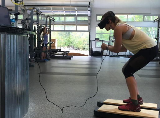 U.S. Olympians Train with VR for 2018 Winter Games