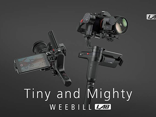 Zhiyun Weebill Lab. Best Travel Gimbal!