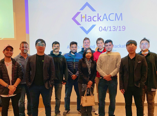 RAVV Host Annual ACM Hackathon For 2019