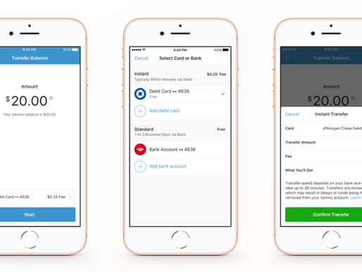 Venmo Now Offers Instant Transfer