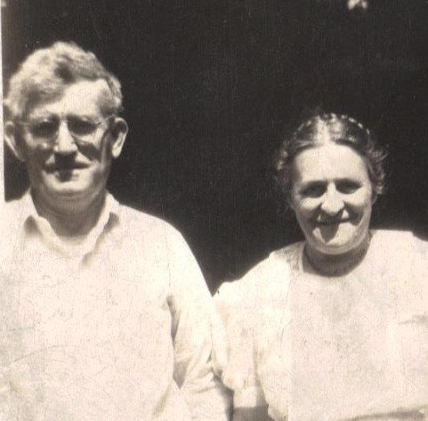 Benjamine Luke and wife Mary (McElwain) Luke