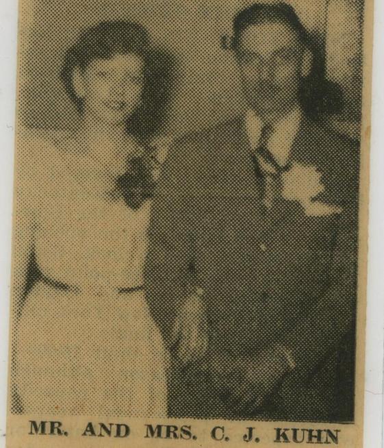 Charles J. (Rocky) & Shirley Jean (Eichenlaub) Kuhn