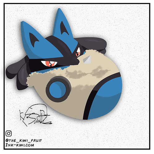 Jelly Bean Lucario