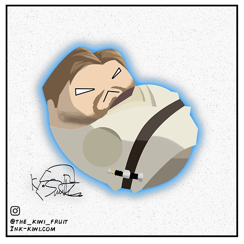 Jelly Bean Obi-Wan Kenobi (Revenge Of The Sith)