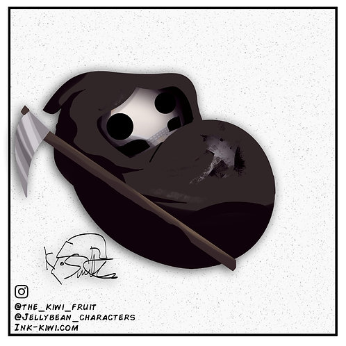 Jelly Bean Grim Reaper