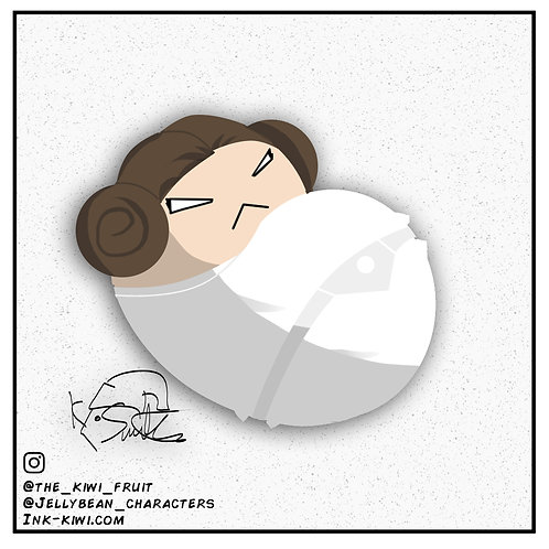 Jelly Bean Princess Leia (Episode IV)