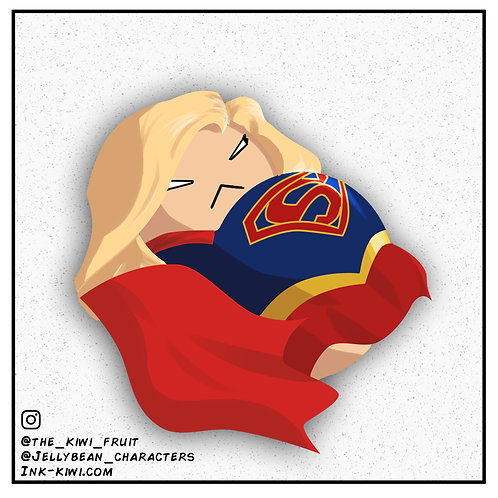 Jelly Bean Supergirl