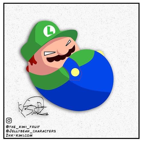 Jelly Bean Luigi