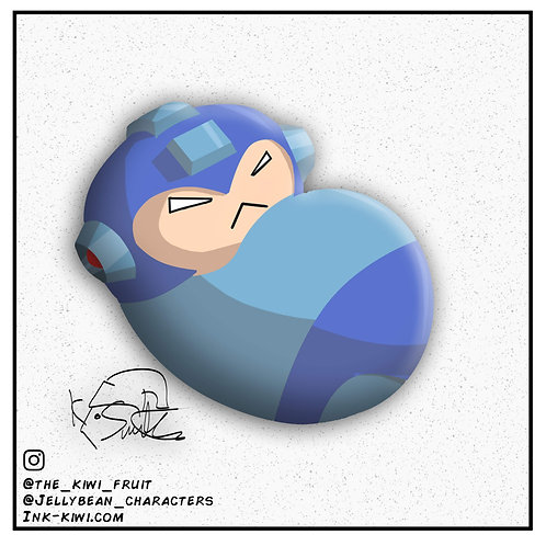 Jelly Bean Mega Man