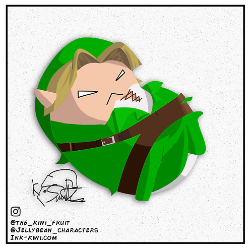 Jelly Bean Link (Ocarina Of Time)