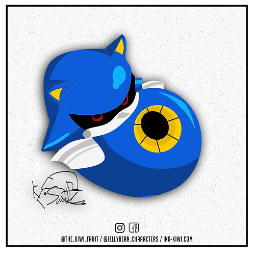 Jelly Bean Metal Sonic