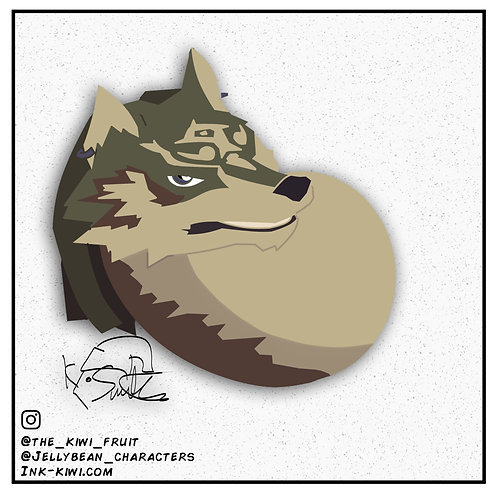 Jelly Bean Wolf Link