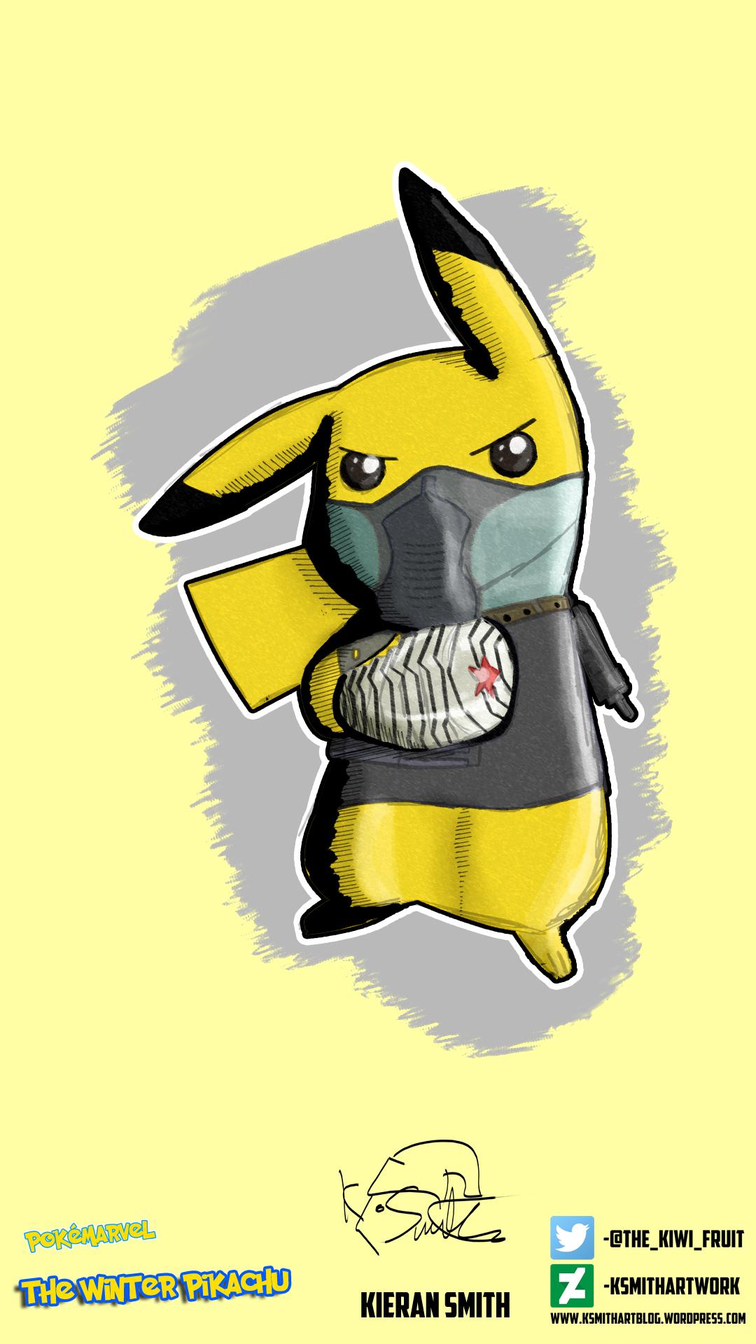 Winter Pikachu Final