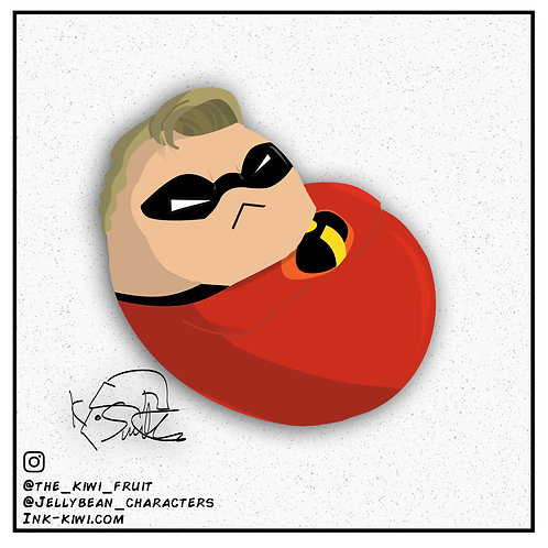 Jelly Bean Mr. Incredible
