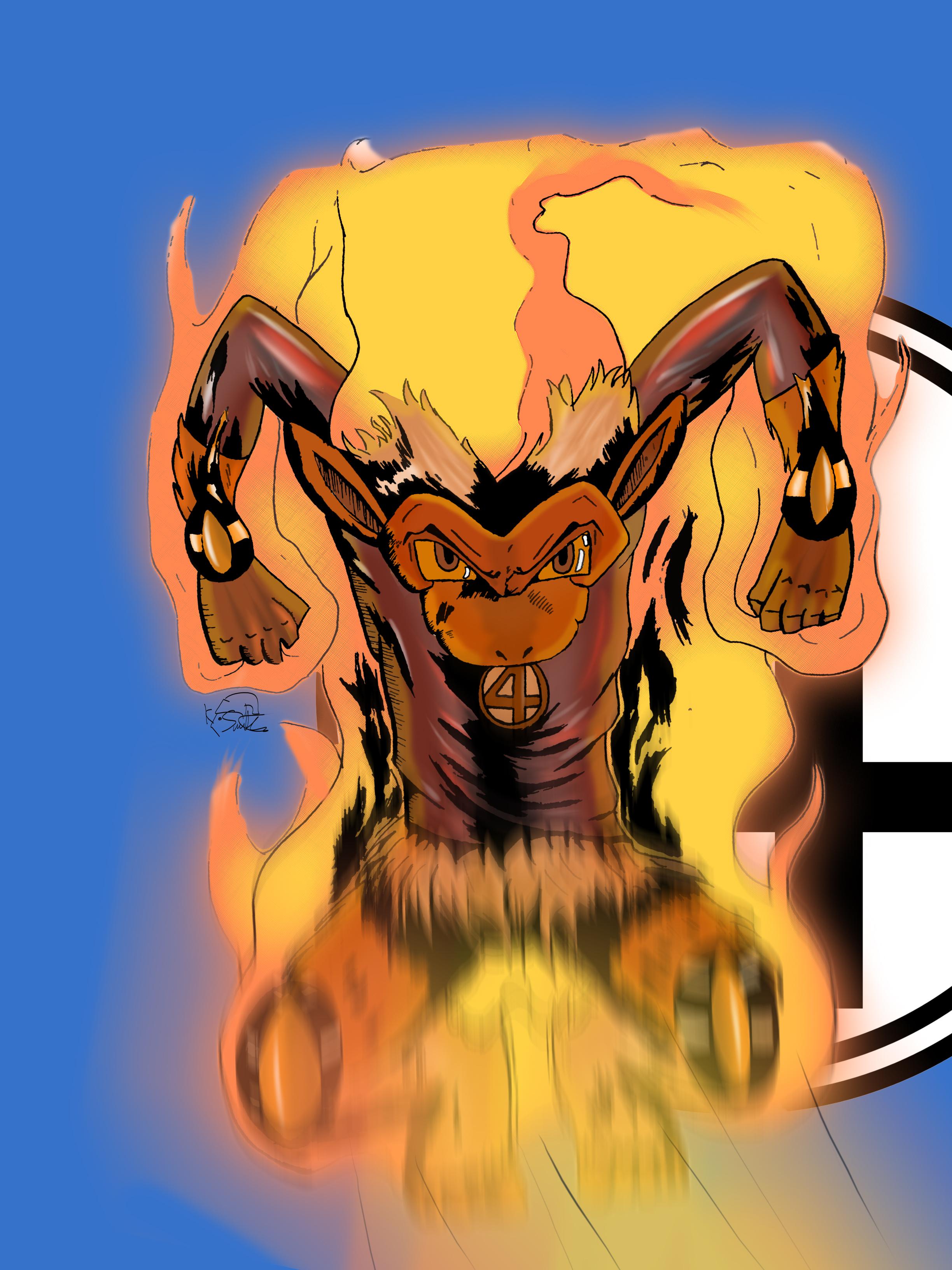 The Infernape Torch