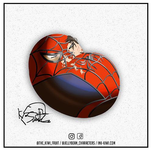 Jelly Bean Spider-Man (Toby Mcguire Beaten)