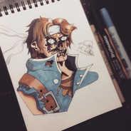 As I continue to draw the Smash Bros Ult