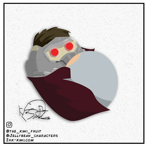 Jelly Bean Star Lord