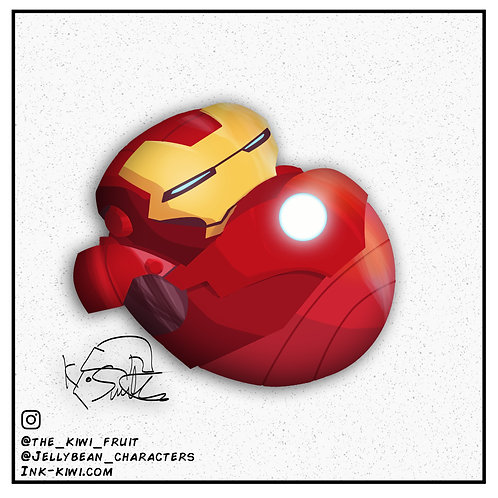 Jelly Bean Iron Man Mk III (Iron Man)