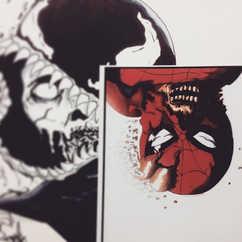 DAY 4 - #inktober Marvel Zombies Spider-