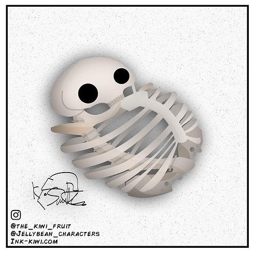 Jelly Bean Skeleton
