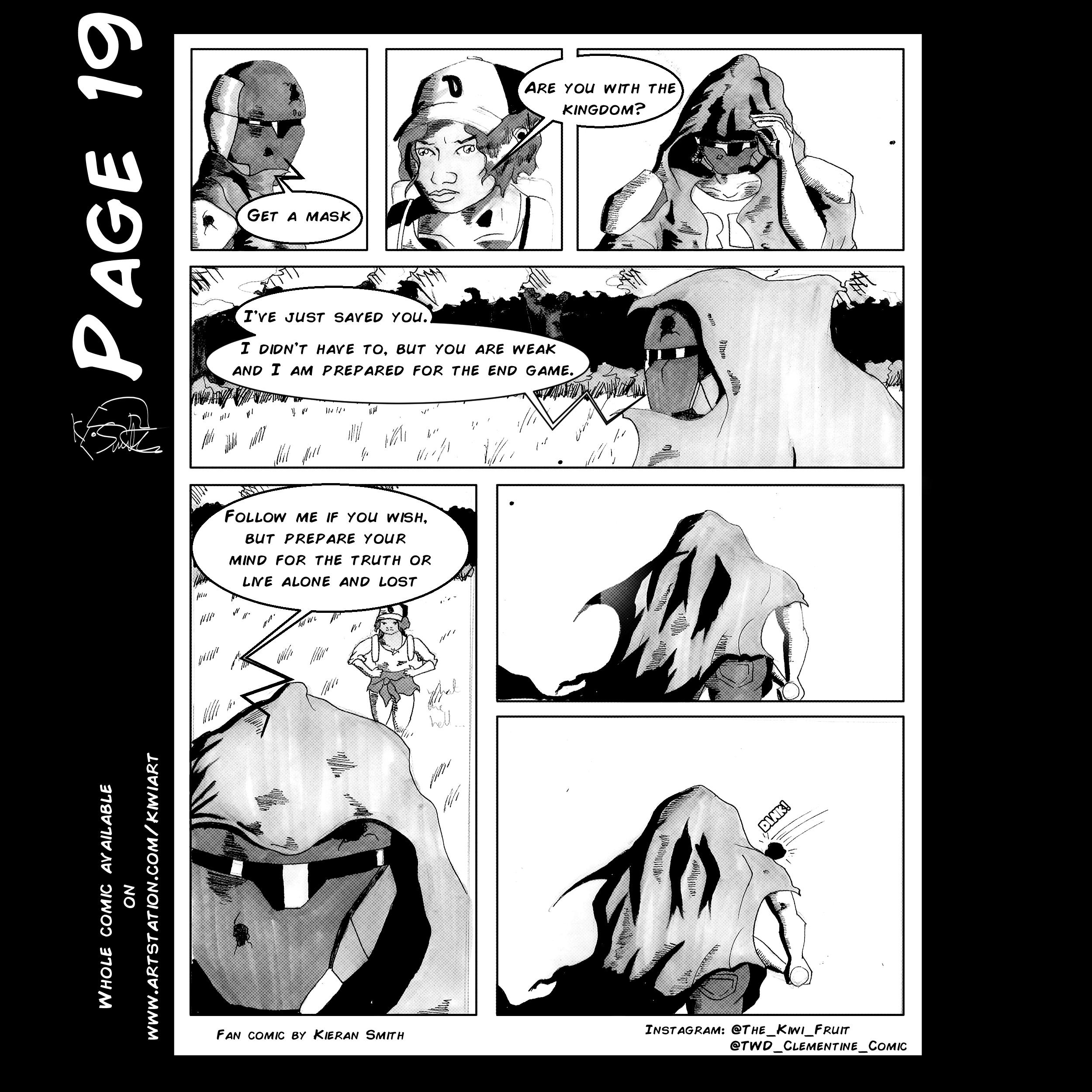 Walking Dead Clementine Page 19