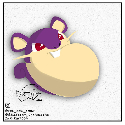Jelly Bean Rattata