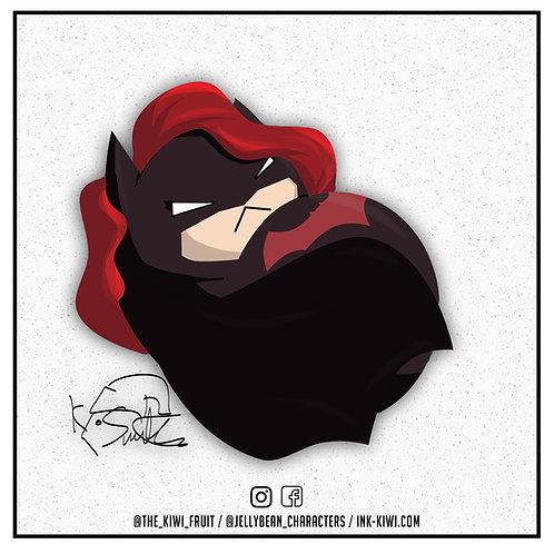 Jelly Bean Batwoman