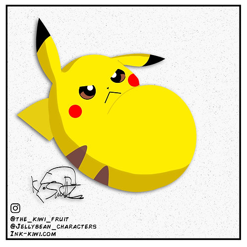 Jelly Bean Pikachu