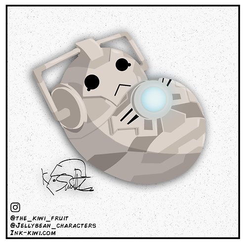 Jelly Bean Cyberman