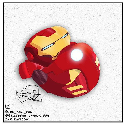 Jelly Bean Iron Man Mk VII (Avengers)