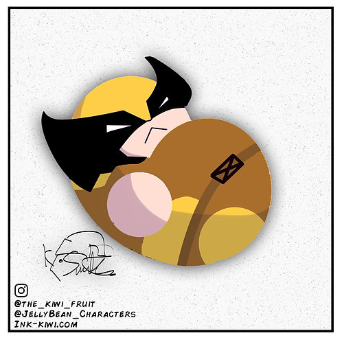 Jelly Bean Wolverine
