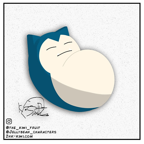 Jelly Bean Snorlax