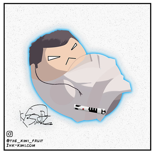 Jelly Bean Obi-Wan Kenobi (The Phantom Menace)