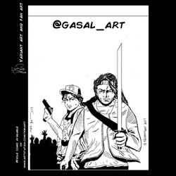 Walking Dead Clementine Page 22 Variant art