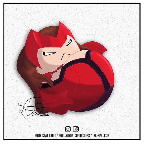Jelly Bean Scarlet Witch (Ultimate Alliance 3)