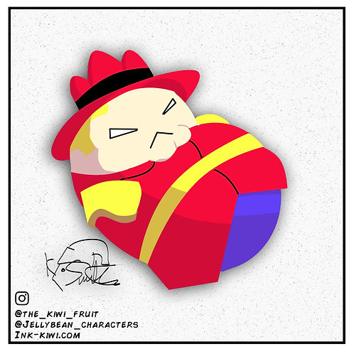 Jelly Bean Dudley Do Right