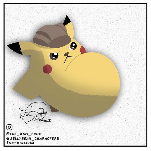Jelly Bean Detective Pikachu