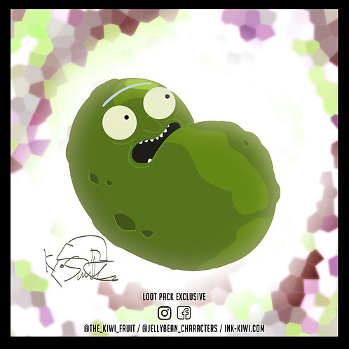 Jelly Bean Pickle Rick (SPECIAL)