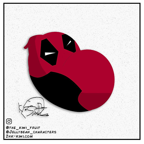Jelly Bean Deadpool