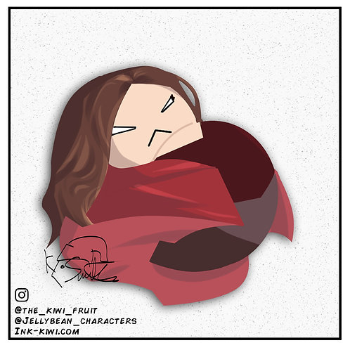 Jelly Bean Scarlet Witch