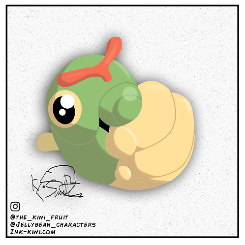 Jelly Bean Caterpie