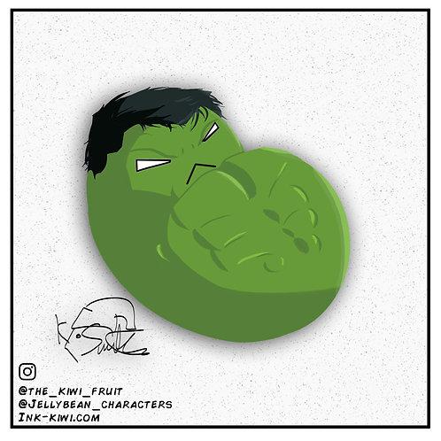 Jelly Bean Hulk (Infinity War)