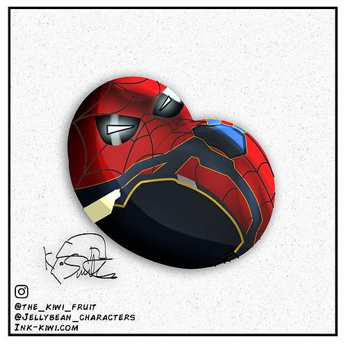 Jelly Bean Iron Spider