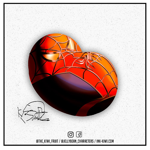 Jelly Bean Spider-Man (Toby Mcguire Spider-Man 2)