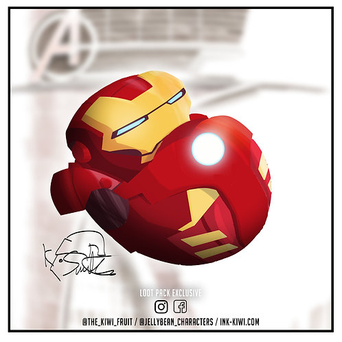 Jelly Bean Iron Man (SPECIAL)