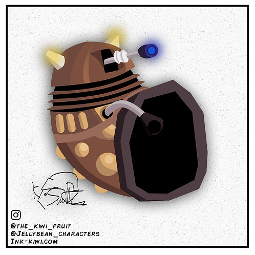 Jelly Bean Dalek