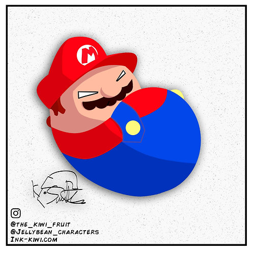 Jelly Bean Mario